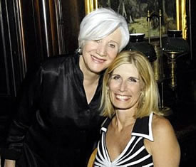 Olympia Dukakis and Bonnie Low-Kramen