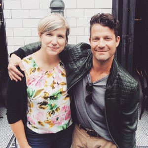 Celebrity Assistant Kelly Engstrom with her principal Nate Berkus-