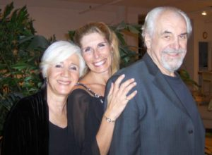 Bonnie Low-Kramen with Olympia Dukakis and Louis Zorich